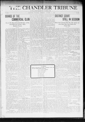 Primary view of object titled 'The Chandler Tribune (Chandler, Okla.), Vol. 19, No. 37, Ed. 1 Thursday, October 9, 1919'.