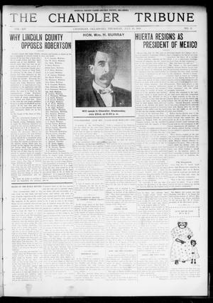 Primary view of object titled 'The Chandler Tribune (Chandler, Okla.), Vol. 14, No. 21, Ed. 1 Thursday, July 16, 1914'.
