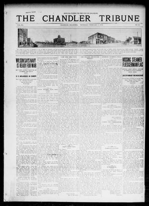 Primary view of object titled 'The Chandler Tribune (Chandler, Okla.), Vol. 15, No. 50, Ed. 1 Thursday, February 3, 1916'.