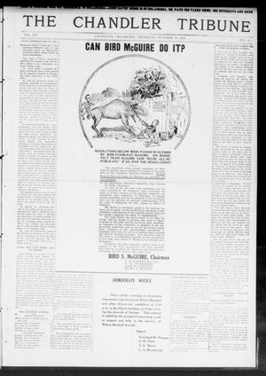 Primary view of object titled 'The Chandler Tribune (Chandler, Okla.), Vol. 12, No. 32, Ed. 1 Thursday, October 10, 1912'.