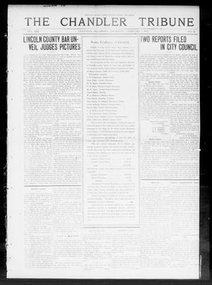 Primary view of object titled 'The Chandler Tribune (Chandler, Okla.), Vol. 13, No. 44, Ed. 1 Thursday, February 5, 1914'.