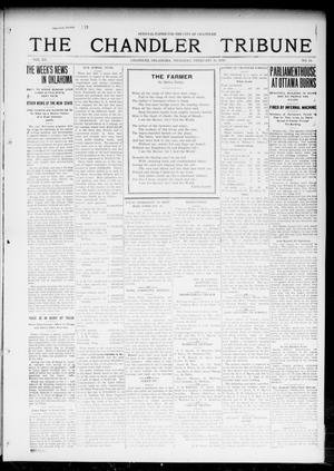 Primary view of object titled 'The Chandler Tribune (Chandler, Okla.), Vol. 15, No. 51, Ed. 1 Thursday, February 10, 1916'.