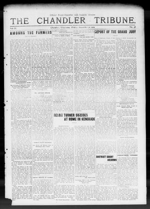 Primary view of object titled 'The Chandler Tribune. (Chandler, Okla.), Vol. 9, No. 42, Ed. 1 Friday, December 31, 1909'.