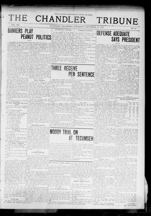 Primary view of object titled 'The Chandler Tribune (Chandler, Okla.), Vol. 14, No. 42, Ed. 1 Thursday, December 10, 1914'.
