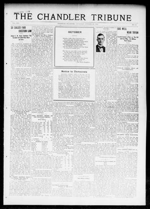 Primary view of object titled 'The Chandler Tribune (Chandler, Okla.), Vol. 16, No. 33, Ed. 1 Thursday, October 5, 1916'.