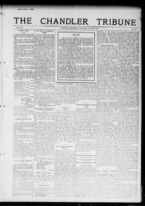 Primary view of object titled 'The Chandler Tribune (Chandler, Okla.), Vol. 16, No. 22, Ed. 1 Thursday, July 20, 1916'.