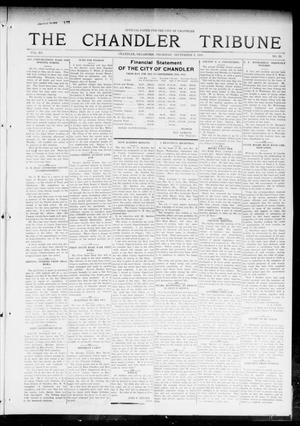 Primary view of object titled 'The Chandler Tribune (Chandler, Okla.), Vol. 15, No. 29, Ed. 1 Thursday, September 9, 1915'.