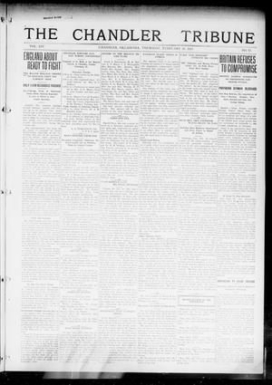 Primary view of object titled 'The Chandler Tribune (Chandler, Okla.), Vol. 14, No. 52, Ed. 1 Thursday, February 18, 1915'.