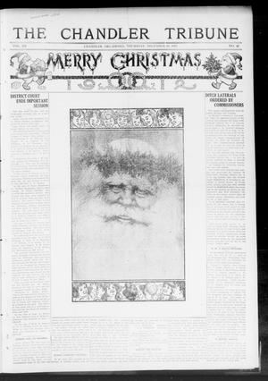 Primary view of object titled 'The Chandler Tribune (Chandler, Okla.), Vol. 12, No. 42, Ed. 1 Thursday, December 19, 1912'.