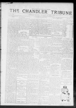 Primary view of object titled 'The Chandler Tribune (Chandler, Okla.), Vol. 13, No. 33, Ed. 1 Thursday, October 16, 1913'.