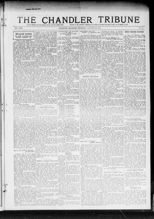 Primary view of object titled 'The Chandler Tribune (Chandler, Okla.), Vol. 18, No. 52, Ed. 1 Thursday, January 23, 1919'.