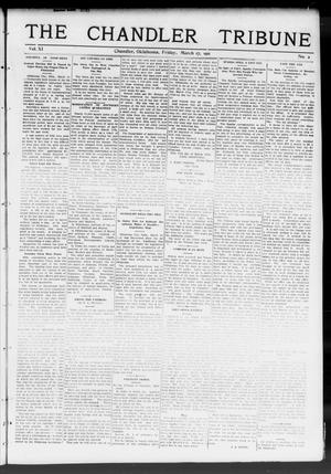 Primary view of object titled 'The Chandler Tribune (Chandler, Okla.), Vol. 11, No. 2, Ed. 1 Friday, March 17, 1911'.