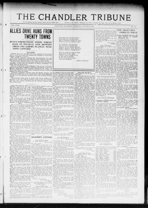 Primary view of object titled 'The Chandler Tribune (Chandler, Okla.), Vol. 18, No. 27, Ed. 1 Thursday, August 22, 1918'.