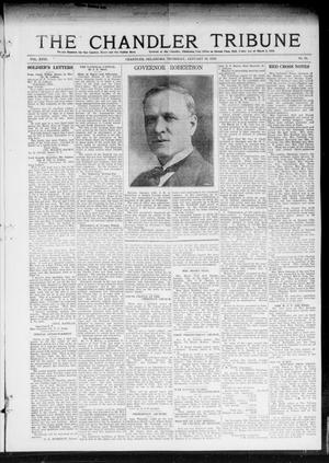 Primary view of object titled 'The Chandler Tribune (Chandler, Okla.), Vol. 18, No. 51, Ed. 1 Thursday, January 16, 1919'.
