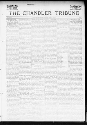 Primary view of object titled 'The Chandler Tribune (Chandler, Okla.), Vol. 18, No. 4, Ed. 1 Thursday, March 14, 1918'.