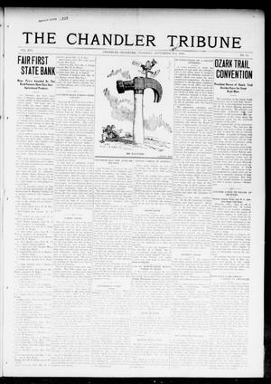 Primary view of object titled 'The Chandler Tribune (Chandler, Okla.), Vol. 16, No. 31, Ed. 1 Thursday, September 21, 1916'.