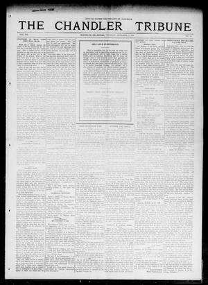 Primary view of object titled 'The Chandler Tribune (Chandler, Okla.), Vol. 15, No. 28, Ed. 1 Thursday, September 2, 1915'.
