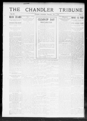 Primary view of object titled 'The Chandler Tribune (Chandler, Okla.), Vol. 12, No. 9, Ed. 1 Thursday, May 2, 1912'.