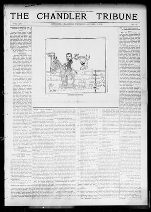 Primary view of object titled 'The Chandler Tribune (Chandler, Okla.), Vol. 14, No. 32, Ed. 1 Thursday, October 1, 1914'.