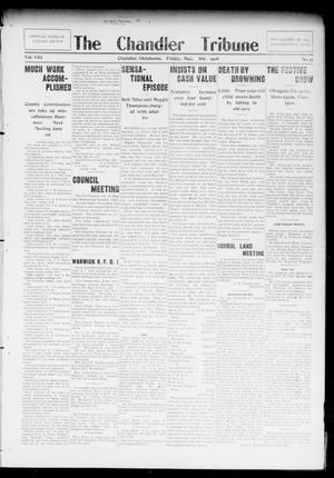 Primary view of object titled 'The Chandler Tribune (Chandler, Okla.), Vol. 8, No. 17, Ed. 1 Friday, May 8, 1908'.