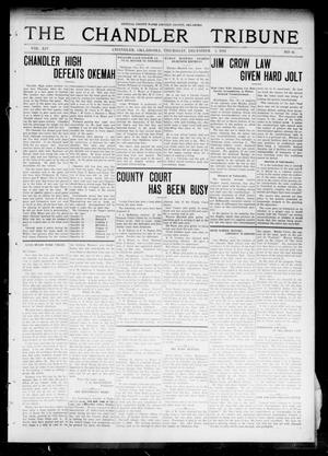 Primary view of object titled 'The Chandler Tribune (Chandler, Okla.), Vol. 14, No. 41, Ed. 1 Thursday, December 3, 1914'.