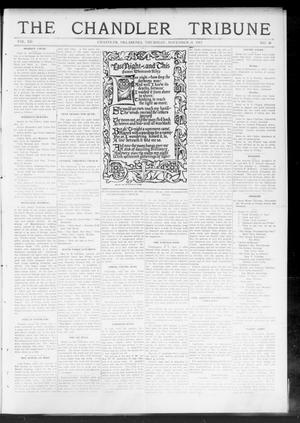 Primary view of object titled 'The Chandler Tribune (Chandler, Okla.), Vol. 12, No. 38, Ed. 1 Thursday, November 21, 1912'.