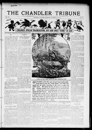 Primary view of object titled 'The Chandler Tribune (Chandler, Okla.), Vol. 16, No. 40, Ed. 1 Thursday, November 23, 1916'.
