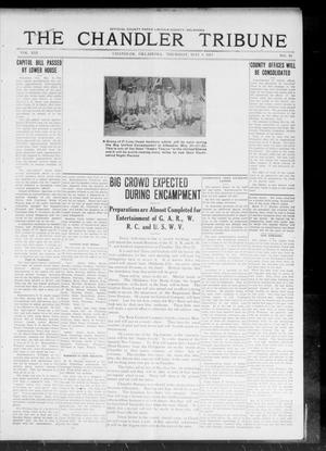 Primary view of object titled 'The Chandler Tribune (Chandler, Okla.), Vol. 13, No. 10, Ed. 1 Thursday, May 8, 1913'.
