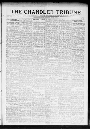 Primary view of object titled 'The Chandler Tribune (Chandler, Okla.), Vol. 18, No. 28, Ed. 1 Thursday, August 29, 1918'.