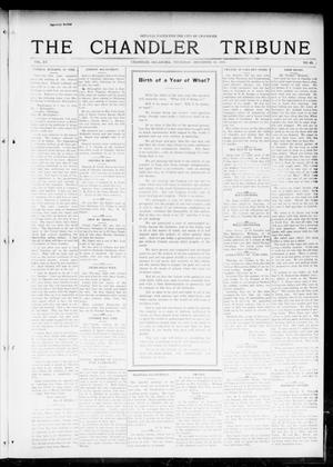 Primary view of object titled 'The Chandler Tribune (Chandler, Okla.), Vol. 15, No. 45, Ed. 1 Thursday, December 30, 1915'.