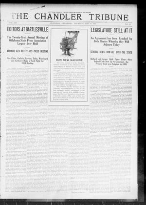 Primary view of object titled 'The Chandler Tribune (Chandler, Okla.), Vol. 13, No. 11, Ed. 1 Thursday, May 15, 1913'.