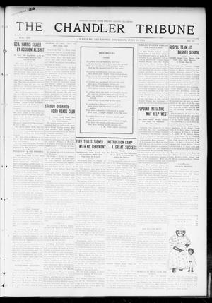 Primary view of object titled 'The Chandler Tribune (Chandler, Okla.), Vol. 14, No. 17, Ed. 1 Thursday, June 18, 1914'.