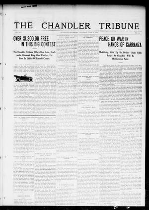 Primary view of object titled 'The Chandler Tribune (Chandler, Okla.), Vol. 16, No. 18, Ed. 1 Thursday, June 22, 1916'.
