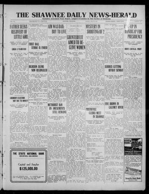 Primary view of object titled 'The Shawnee Daily News-Herald (Shawnee, Okla.), Vol. 16, No. 256, Ed. 1 Monday, May 20, 1912'.