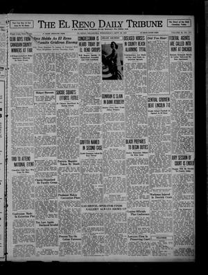 Primary view of object titled 'The El Reno Daily Tribune (El Reno, Okla.), Vol. 46, No. 177, Ed. 1 Wednesday, September 29, 1937'.