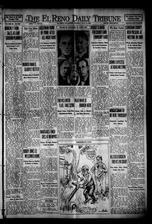 Primary view of object titled 'The El Reno Daily Tribune (El Reno, Okla.), Vol. 38, No. 239, Ed. 1 Monday, July 14, 1930'.
