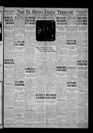 Primary view of object titled 'The El Reno Daily Tribune (El Reno, Okla.), Vol. 41, No. 105, Ed. 1 Thursday, June 2, 1932'.