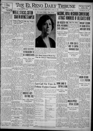 Primary view of object titled 'The El Reno Daily Tribune (El Reno, Okla.), Vol. 42, No. 66, Ed. 1 Wednesday, April 19, 1933'.