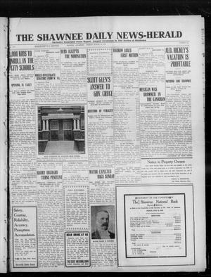 Primary view of object titled 'The Shawnee Daily News-Herald (Shawnee, Okla.), Vol. 16, No. 334, Ed. 1 Monday, August 26, 1912'.