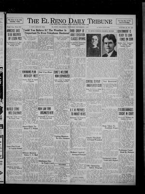 Primary view of The El Reno Daily Tribune (El Reno, Okla.), Vol. 46, No. 208, Ed. 1 Thursday, November 4, 1937