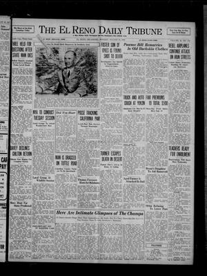 Primary view of object titled 'The El Reno Daily Tribune (El Reno, Okla.), Vol. 45, No. 155, Ed. 1 Monday, August 31, 1936'.