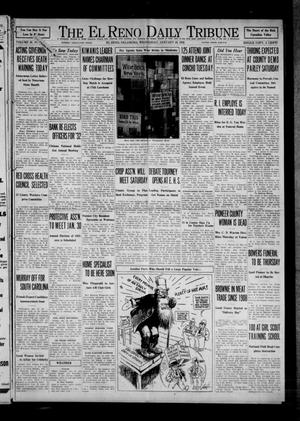 Primary view of object titled 'The El Reno Daily Tribune (El Reno, Okla.), Vol. 40, No. 303, Ed. 1 Wednesday, January 20, 1932'.