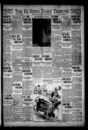 Primary view of object titled 'The El Reno Daily Tribune (El Reno, Okla.), Vol. 38, No. 192, Ed. 1 Tuesday, May 20, 1930'.