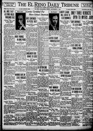 Primary view of object titled 'The El Reno Daily Tribune (El Reno, Okla.), Vol. 43, No. 131, Ed. 1 Friday, September 7, 1934'.