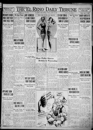 Primary view of object titled 'The El Reno Daily Tribune (El Reno, Okla.), Vol. 40, No. 120, Ed. 1 Friday, June 19, 1931'.