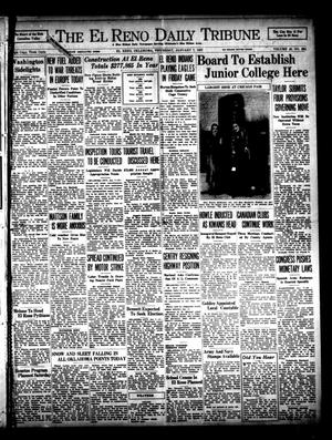 Primary view of object titled 'The El Reno Daily Tribune (El Reno, Okla.), Vol. 45, No. 264, Ed. 1 Thursday, January 7, 1937'.