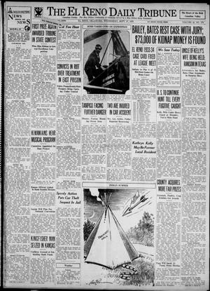 Primary view of object titled 'The El Reno Daily Tribune (El Reno, Okla.), Vol. 42, No. 179, Ed. 1 Wednesday, September 27, 1933'.
