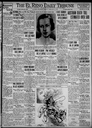 Primary view of object titled 'The El Reno Daily Tribune (El Reno, Okla.), Vol. 42, No. 296, Ed. 1 Tuesday, February 13, 1934'.