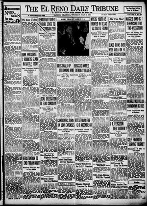 Primary view of object titled 'The El Reno Daily Tribune (El Reno, Okla.), Vol. 43, No. 83, Ed. 1 Thursday, July 12, 1934'.
