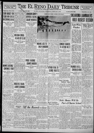 Primary view of object titled 'The El Reno Daily Tribune (El Reno, Okla.), Vol. 43, No. 252, Ed. 1 Wednesday, February 6, 1935'.